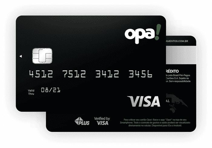 Cartão OpaPay