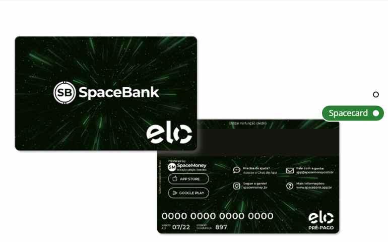 Cartão Space Money