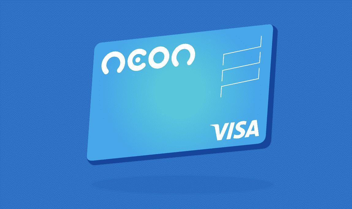 cartão Neon