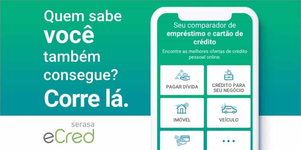 empréstimo pessoal Serasa eCred